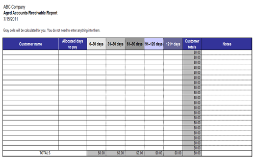 Useful MS Excel and Word Templates for Business Owners – Business Expenses Template