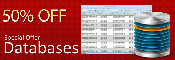 50% Off Database Specials