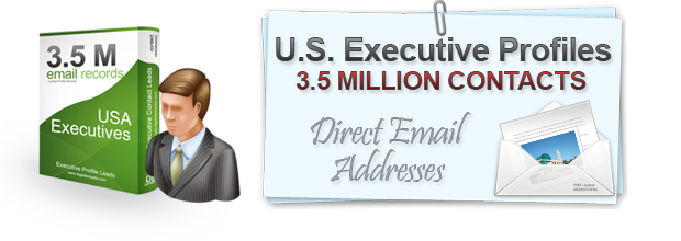 us executives email database