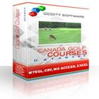 Canada Golf Courses Database
