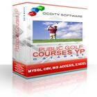 Public Golf Courses Yellow Pages Database