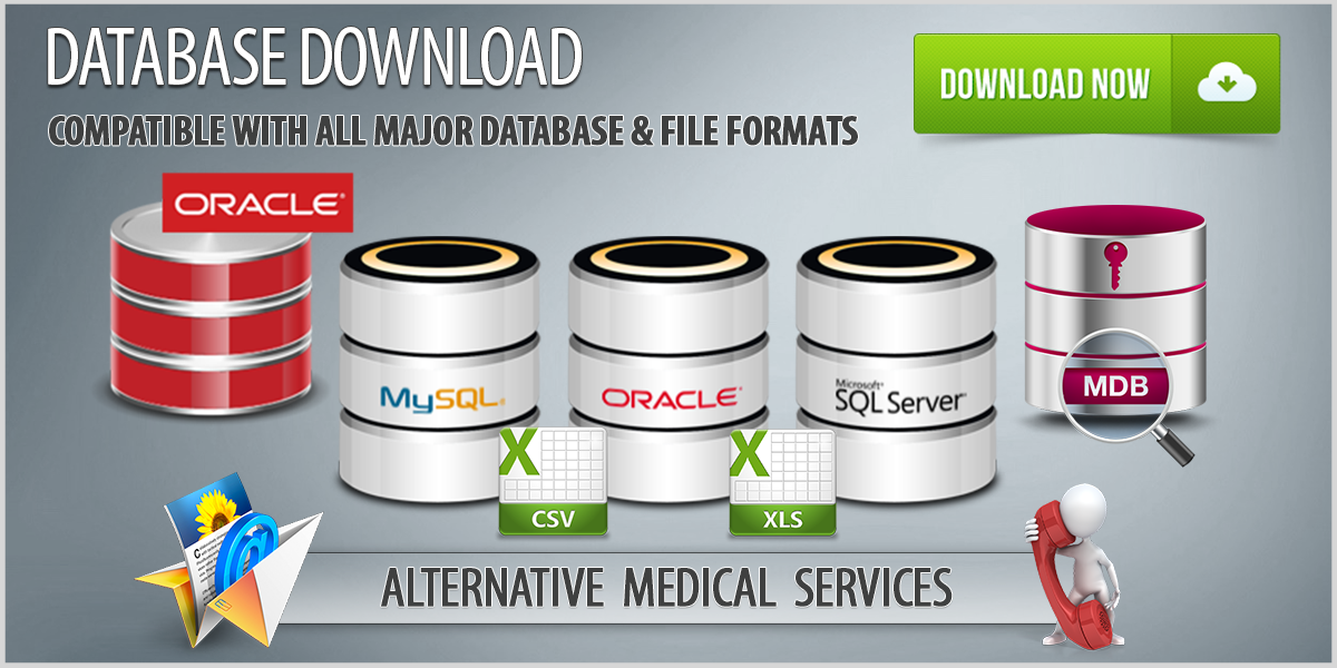 Alternative Medicine Database Download