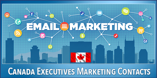 Canada Executives Email Database Download