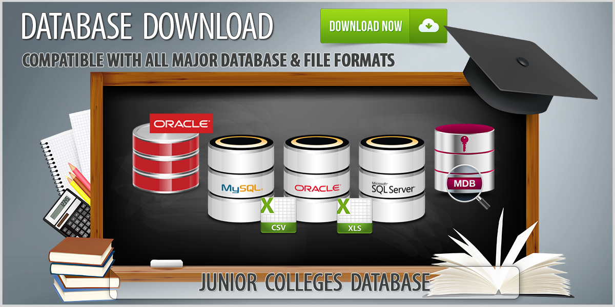 Junior Colleges & Technical Institutes Database Download