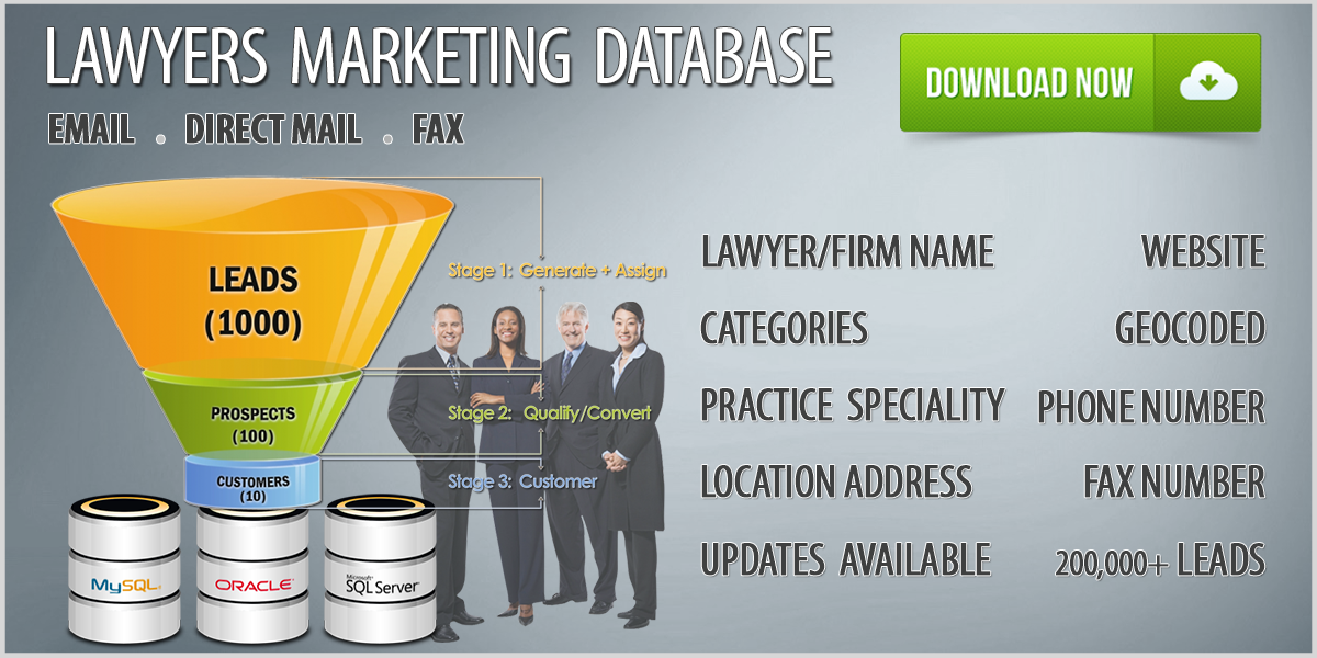 Lawyers Database Download