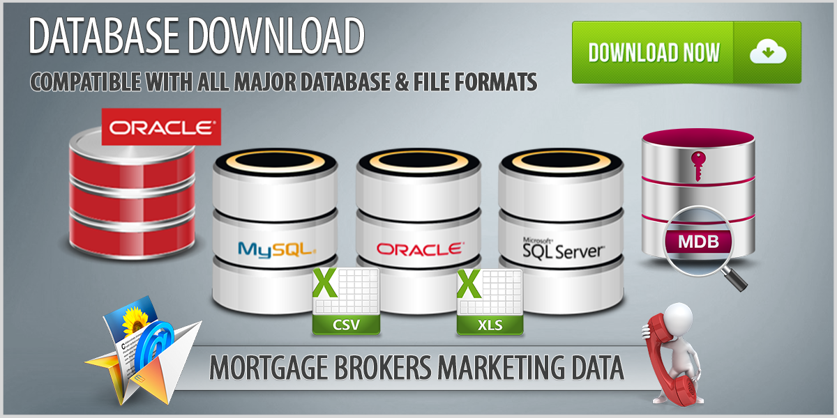 U.S. Mortgage Brokers Contact Database Download