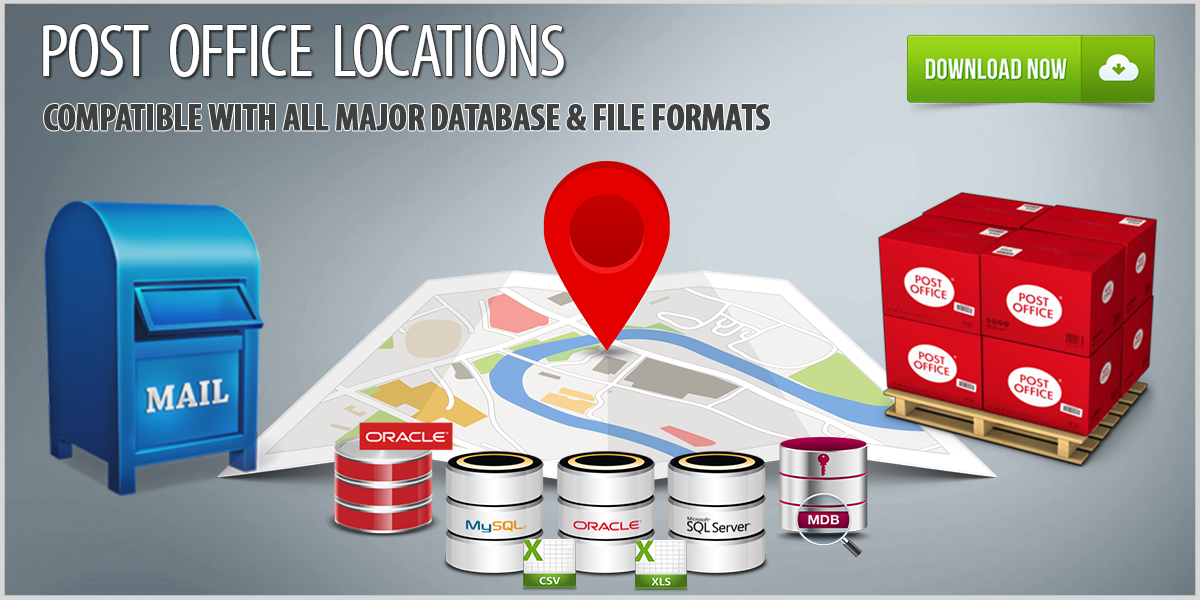 Post Office Locations Database Download