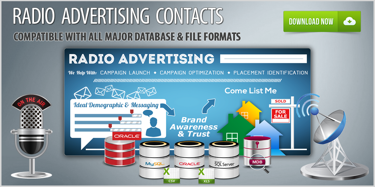 Radio Advertising Contact Database Download