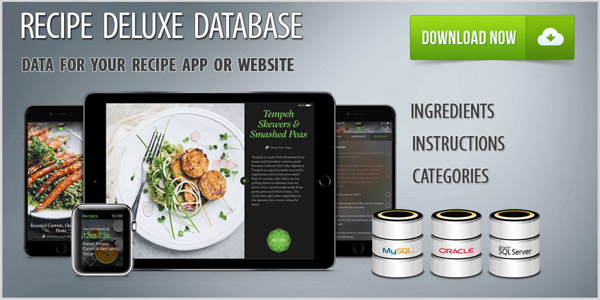 Recipes Deluxe Database Download