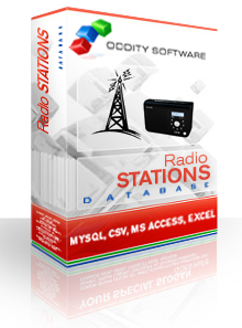 Download Radio Stations (North America) Database