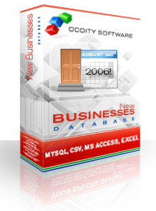 Download August 2006 New Businesses Database