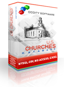 Download U.S. Churches Database
