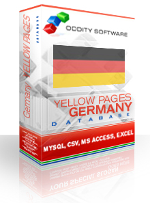 Download Germany Yellow Pages Database