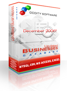 Download Utah Updated Businesses Database 12/06