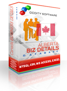 Download Alberta Canada Company Details Database
