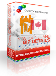 Download Newfoundland Canada Company Details Database