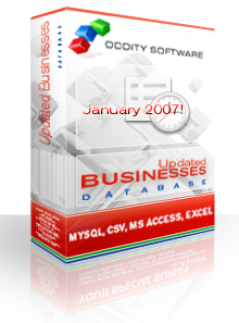 Download Connecticut Updated Businesses Database 01/07