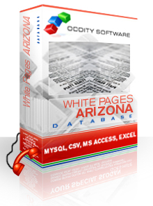 Download Arizona White Pages Database