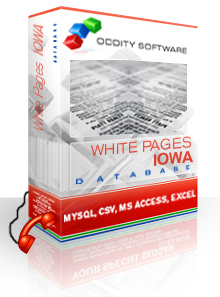 Download Iowa White Pages Database