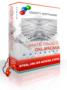 Download Oklahoma White Pages Database