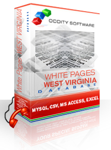 Download West Virginia White Pages Database