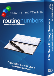 Download Bank Routing Numbers Database