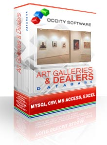 Download Art Galleries and Dealers Database
