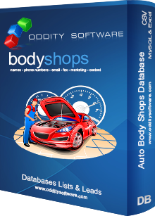 Download Auto Body Shops Database