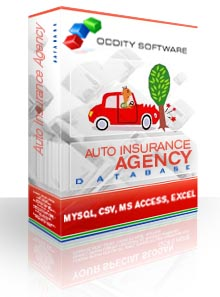 Download Auto Insurance Agency Database