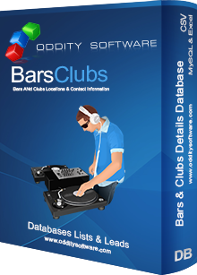 Download Bars and Clubs Details Database