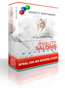 Download Beauty and Hair Salons Database