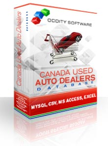 Download Canada - Used Auto Dealers Database