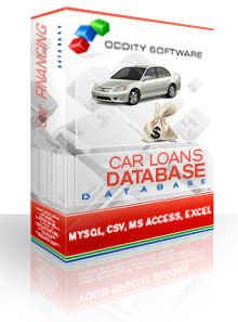 Download Car Financing and Loans Database