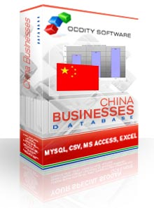 Download China Businesses Database