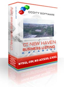 Download Connecticut - New Haven, Business Listings Database