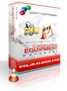 Download Construction Machinery & Equipment Database