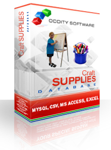 Download Craft Supplies Database
