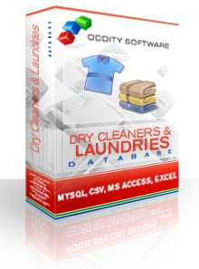 Download Dry Cleaners & Laundries Database