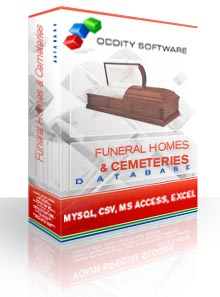 Download Funeral Homes & Cemeteries Database