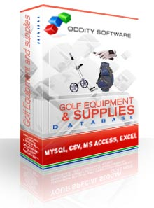 Download Golf Equipment and Supplies Database