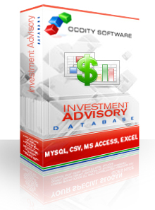 Download Investment Advisory Services Database