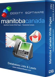 Download Manitoba Canada White Pages Database