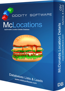 Download McDonalds Location Details Database