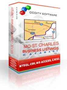 Download Missouri - Saint Charles, Business Listings Database
