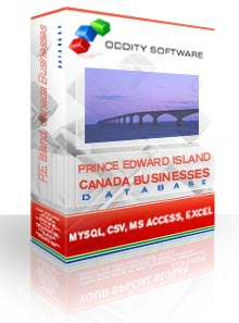 Download Prince Edward Island Canada Businesses Database