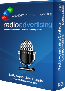 Download Radio Advertising Contact Database