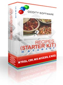 Download Recipes (Starter Kit) Database