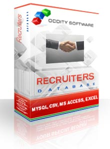 Download Recruiters Database