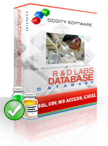 Download Research and Development Laboratories Database