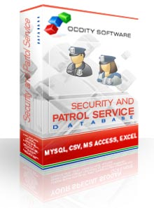 Download Security Guard and Patrol Service Database